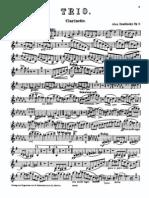 Zemlinsky - Clarinet Trio Op. 3