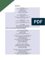 Jackie Wilson Lyrics
