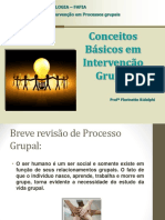 Intervenção Em Grupos