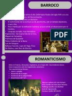 Diapositiva de Movimientos Literarios