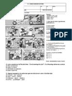 Avaliação Diagnostica Ingles 8 Ano Completa