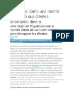 lIMPIEZA DE DIENTES