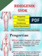 SYOK CARDIOGENIK