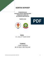 Kertas Kerja Perkhemahan Perdana Sdumen 2018