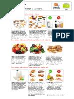 pip dietary guidelines children 1-2