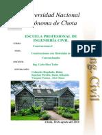 Construcciones Con Materiales No Convensionales