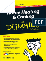 Home Heating and Cooling for Dummies