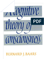 Baars - A cognitive theory of consciousness