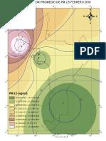PM 2.5 FEBRERO 2018