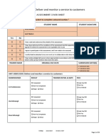 BSBCUS301 Assessment V4. 0217 E