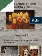 Personajes y Actores Del Teatro de La Antigua Grecia