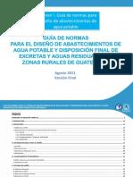 Guía de normas de diseño de agua potable volumen I  ag 2011 FINAL.pdf