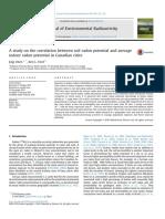 Comparison of Radon in Soil Gas and Indoor Radon