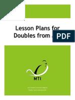5 Mt i Doubles Lesson Plans