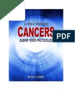El derecho a la información sobre el cáncer