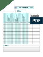 1.- Check List Generador (15 Dias)