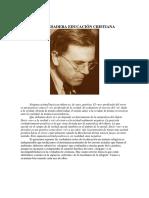 La verdadera educacion cristiana - Dietrich von Hildebrand.pdf