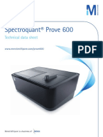028623 MERC150035 Spectroquant Prove600 Datasheet Low