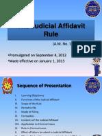The Judicial Affidavit Rule