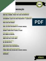 Aula 13 - Diálogo do curso da Universidade do Inglês