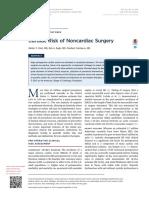 Cardiac Risk of Noncardiac Surgery