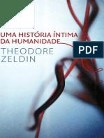 Theodore Zeldi - Uma História Íntima Da Humanidade