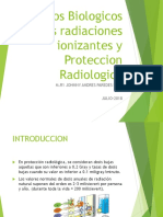 Efectos Biologicos de Las Radiaciones Ionizantes y Proteccion radiologica