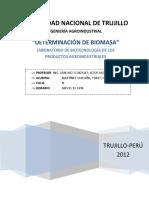 Calculo de Biomasa