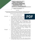 (15)2.3.4.1. Sk Persyaratan Kompetensi Kepala Puskesmas, Penanggung Jawab Program, Dan Pelaksa Kegiatan
