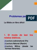 Problemas al Leer la Biblia