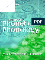 M Devenport Introducing Phonetics and Phonology