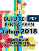 Divider Buku Rekod Pengajaran 2018 - Cikgusuhaimin.com v31