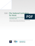 ISM a Framework for Curriculum, Pedagogy and Assessment KS3 Music WEB