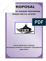 1.Proposal Masjid Baitul Atqiya'