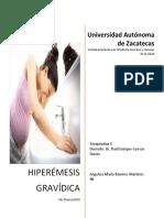 Hiperemesis Gravidica- Terapeutica