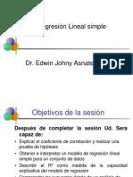 1 Regresion Lineal Simple