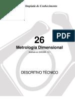 Dt 26 Metrologia Dimensional
