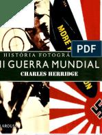 História Fotográfica Da Segunda Guerra Mundial - Charles Herridge
