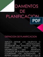 Fundamentos de Planificacion