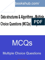 Data Structures Algorithms Multiple Choice Questions MCQs