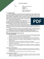 Plan de Tutoría 2013- 2do
