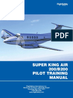 Manual King Air - 200 EFOA Company