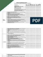 Format Pemetaan KD Kelas 5