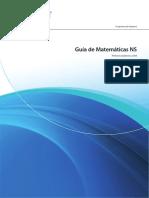Guia de estudios matematicos