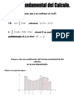 Teorema Fundamental Del Calculo