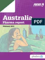 Australia Pharma Report