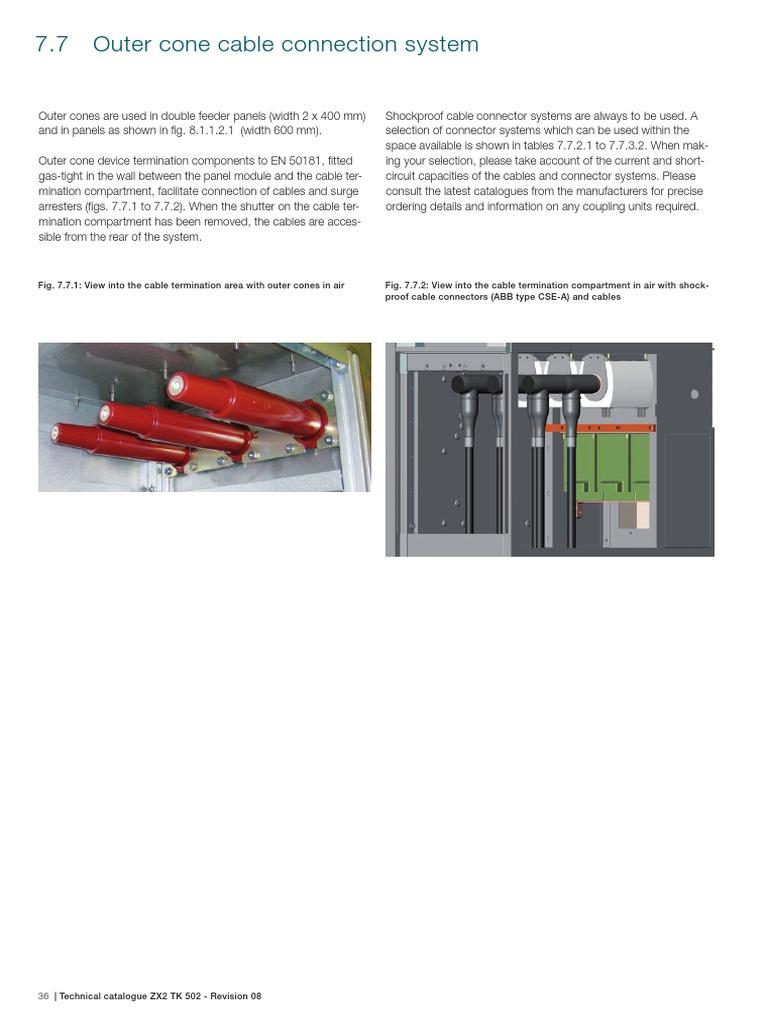 TERMINACION ABB pdf | Electrical Connector | Insulator