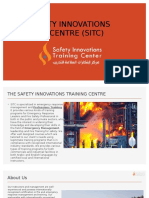 THE SAFETY INNOVATIONS TRAINING CENTRE Intro