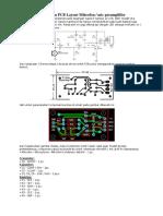 Skema Rangkaian Dan PCB Layout Mikrofon