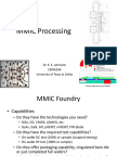 MMIC Design, Part 2 - Processing
